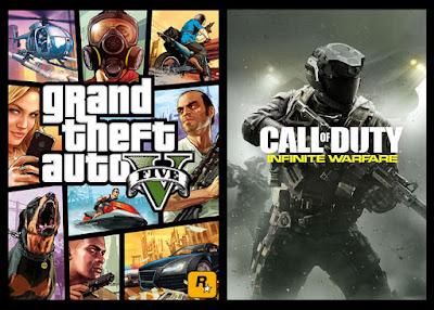 המשחק הנמכר ביותר בבריטניה בשבוע הראשון של 2017 הוא Call of Duty: Infinite Warfare; במקום ה-3 ניצב GTA V