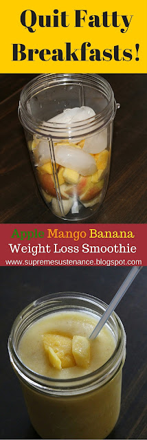 apple banana mango weight loss smoothie recipe
