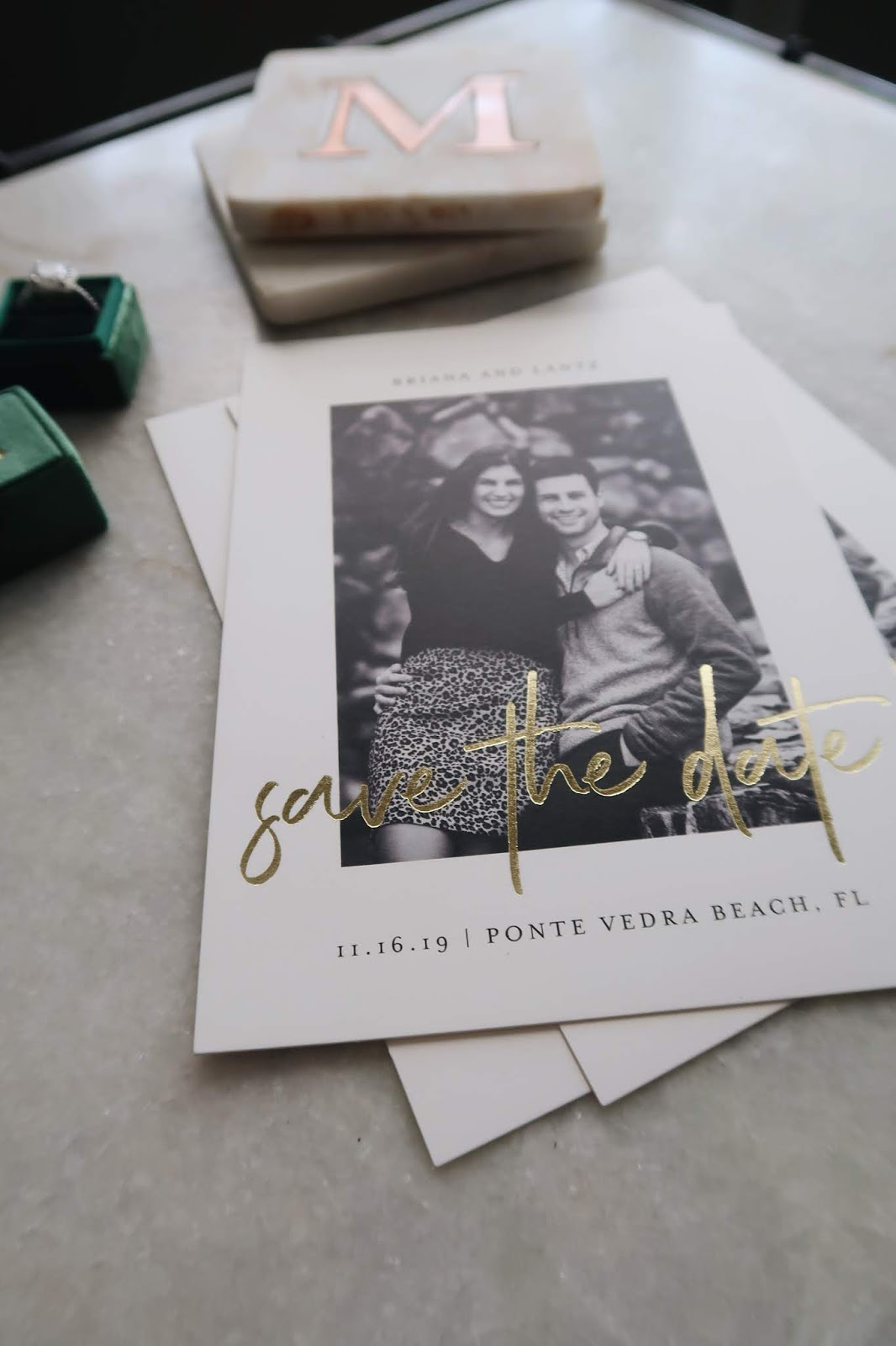 Save The Date: Minted Foil-Pressed Designs Are Top-Notch