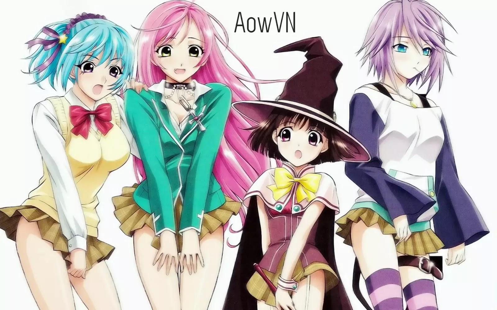 AowVN - [ Anime 3gp Mp4 ] Rosario and Vampire SS1 + SS2 | Vietsub - Ecchi Harem