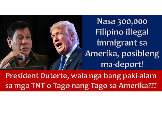 Filipinos illegally staying in the United States should really prepared to go home.  This is the advice of special envoy to the US Babe Romualdez to more than 300,000 Filipinos facing deportation in the US for staying illegally in the said country.  According to Department of Foreign Affairs, there are approximately 3.4 million Filipinos in the US. In this number, around 310,000 are undocumented.  Rumualdez said he received an information that there is a list from US Department of Homeland Security that about 310,000 Filipinos up for deportation.  Largely of this are undocumented Filipinos that they already identified.