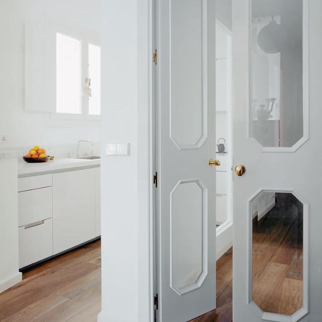 cocina blanca lacada chicanddeco