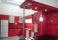 furniture interior semarang - kitchen set minibar 08