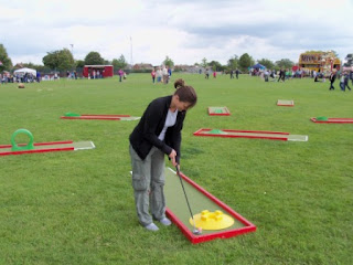 Crazy Golf at Bedgrove Party in the Park in Aylesbury
