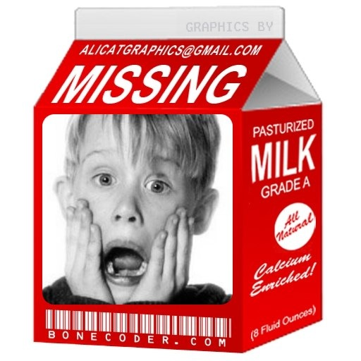 Have You Seen This Guy? | Diary of a Diehard |Missing Person Milk