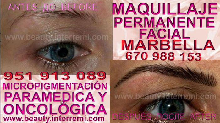 micropigmentyación Marbella, clínica estetica propone los preferible precio para micropigmentyación, maquillaje permanente de cejas en Marbella, y marbella