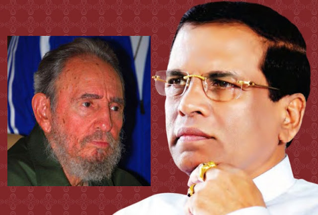 A state commemorative ceremony under the auspices of President for Fidel Castro