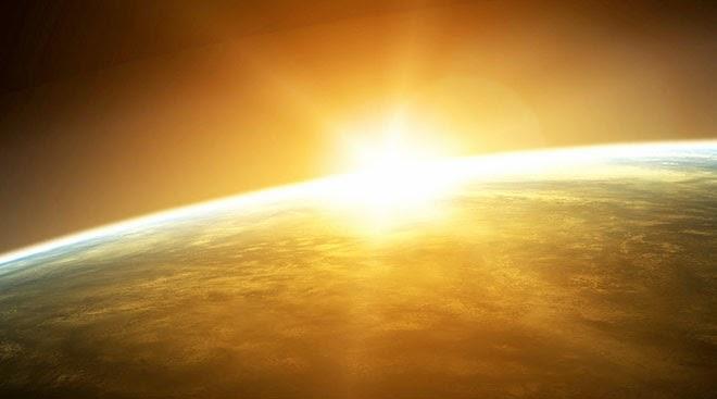 Nicepowerpointtemplate: Star Sun Cosmic Landscape