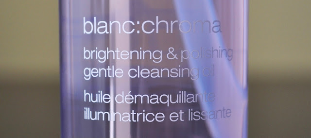 Purity Of Color...Shu Uemura Blanc: Chroma Brightening & Polishing Gentle Cleansing Oil
