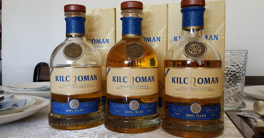 Kilchoman 100% Islay The 5th, 6th and 7th Editions - Which is the best?