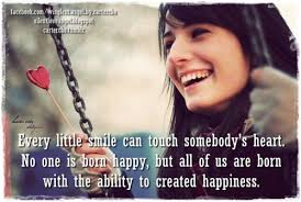 Smile Quotes images: Every little smile can touch somebody's heart.