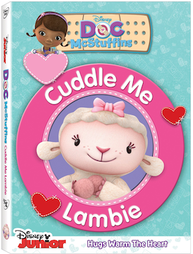DVD Review - Doc McStuffins: Cuddle Me Lambie