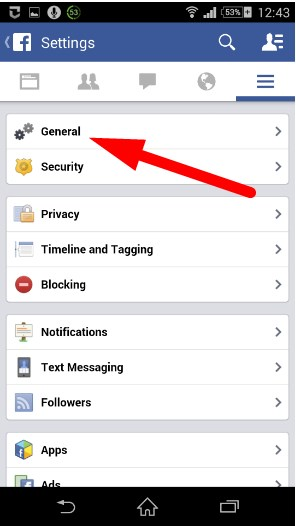 how to deactivate facebook account on your phone