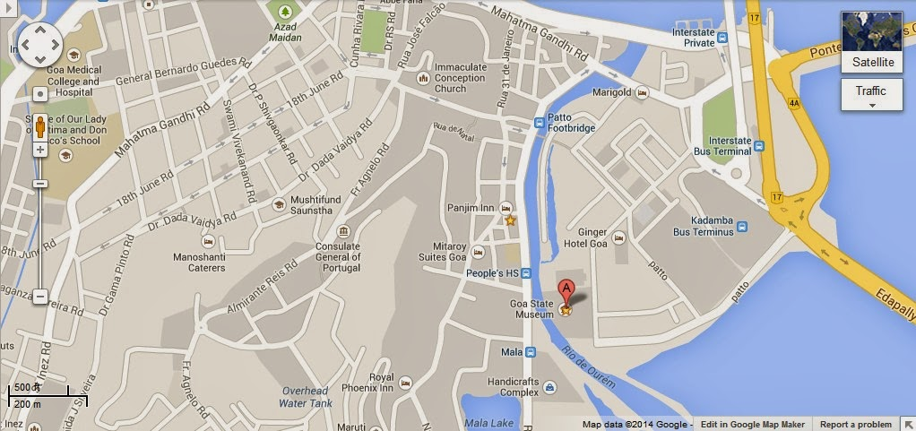Goa State Museum India Location Map,Location Map of Goa State Museum India,Goa State Museum India accommodation destinations attractions hotels map reviews photos pictures