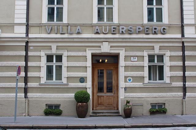Hotel und Villa Auersperg. Salzburg. #sbgatc16