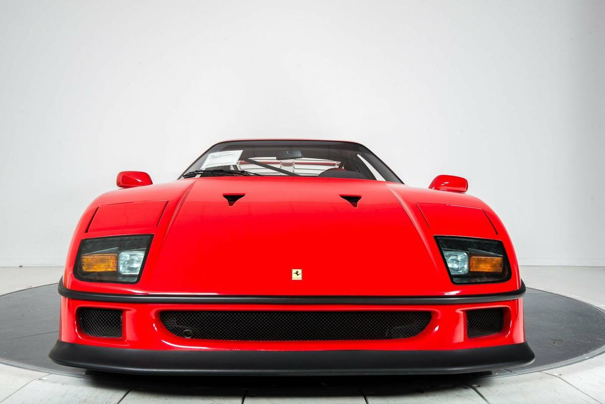 1 5 Million Ferrari F40 With 2 000 Miles Is One Of