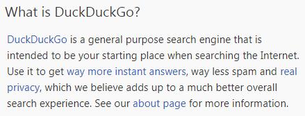 Apa Itu DuckDuckGo?