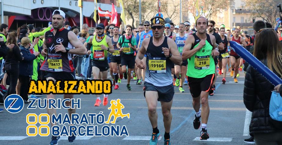 Analizando Zurich Marató de Barcelona 2018