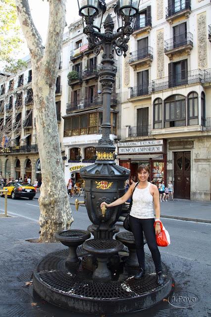 Canaletas Ramblas Barcelona