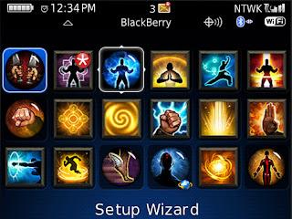 Blackberry Bold 9700 Free Diablo 3 Monk Theme - BlackBerry