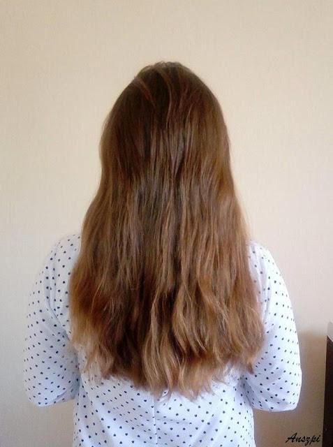 """Włosowy Naked Challenge- czyli moje """"gołe"""" włosy"""