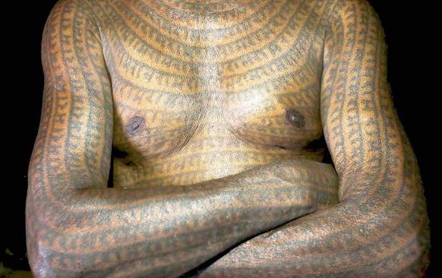 इस गांव के लोंगों के अंग अंग पर लिखा है राम नाम