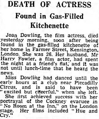 Joan Dowling Suicide