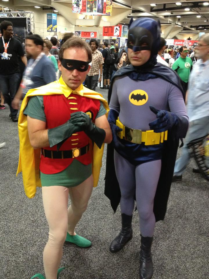 Batman and Robin 66 Cosplay