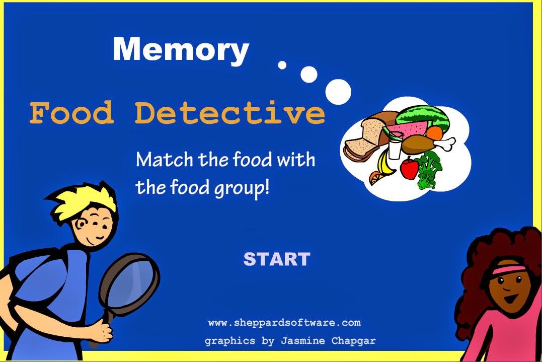 http://www.sheppardsoftware.com/nutritionforkids/matching/memoryfooddetectivess.html