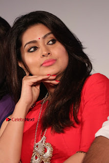 Actress Sneha Latest Stills in Red Dress at Simba Audio Launch  0013.jpg