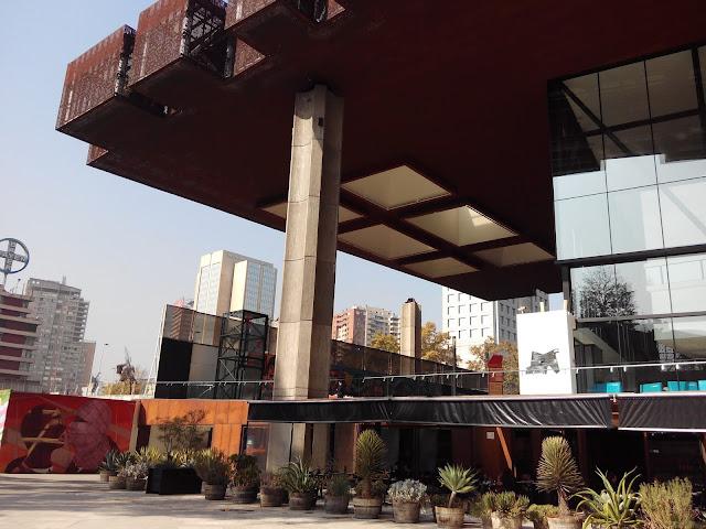 Centro Cultural Gabriela Mistral Santiago de Chile