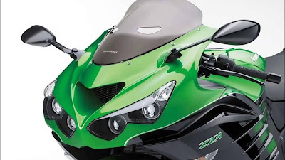 2016 Kawasaki Ninja ZX-14R green edition