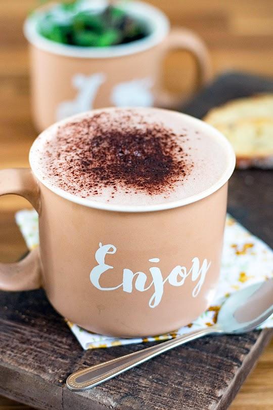 recette Chocolat chaud à la banane et datte