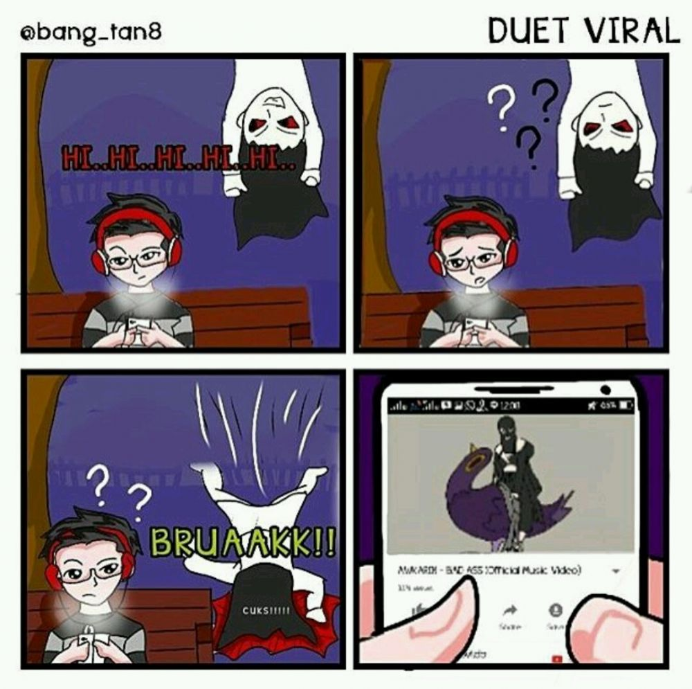 Komik Hantu Seram Lucu