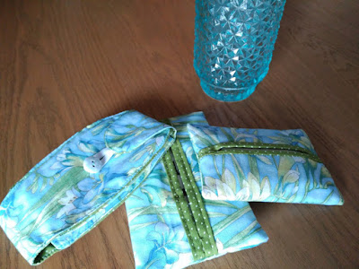 funda pañuelos, costura, couture, sewing, mouchoirs, tissues