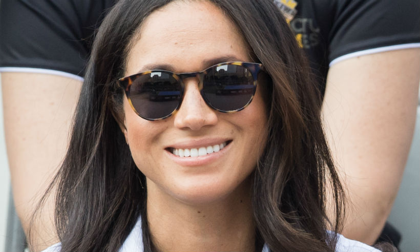 Meghan Markle Wearing Finlay Co Percy Sunglasses at Invictus Games Toronto
