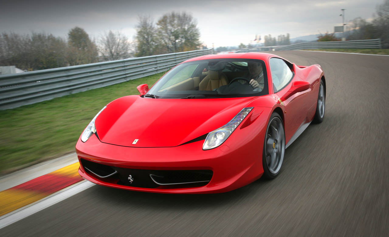 World Of Cars Ferrari 458 Italia