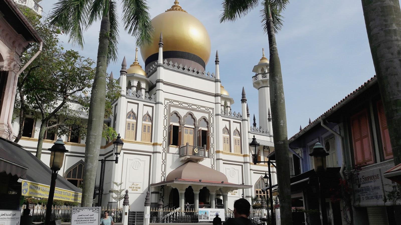 Catatan Perjalanan Tiket Fisik Garden By The Bay Anak Titip Di Hotel Singapore Sultan Mosque