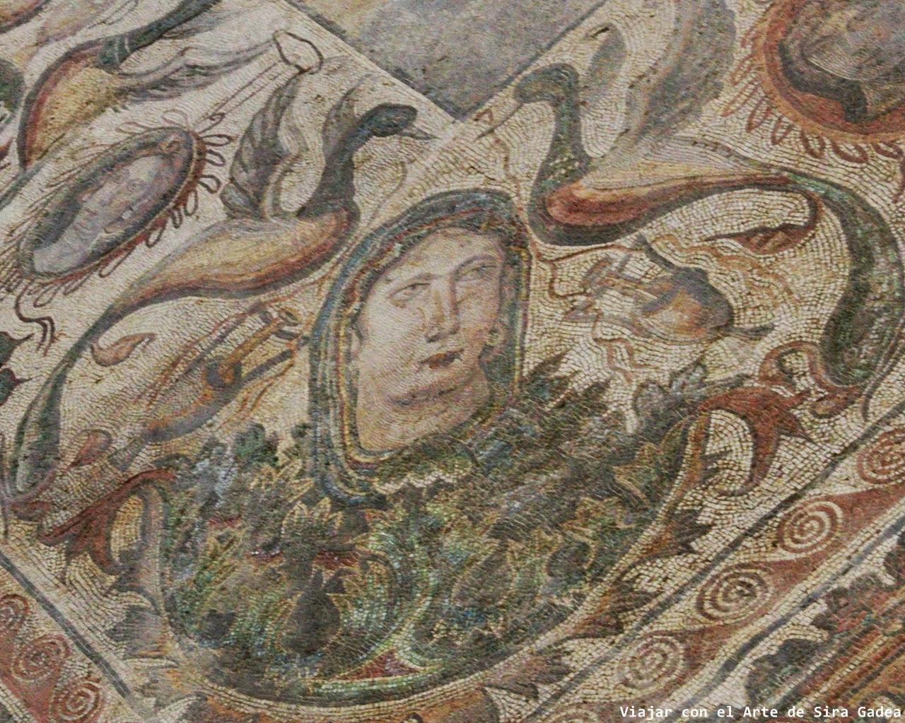 mosaico La Olmeda Invierno