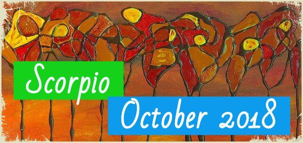 Scorpio in October 2018