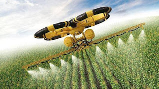 Drones are used in farming for various reasons