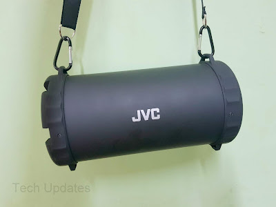 JVC Boombox XS-XN15 Speaker Review