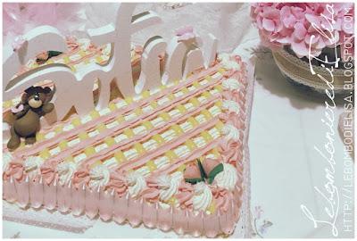 cake topper battesimo orso personalizzato