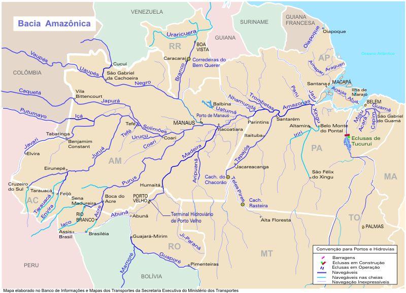 Bacia Hidrográfica da Amazônia