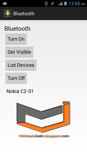 Android Bluetooth Tutorial-By Mithilesh Joshi 2018 Android Tutorials