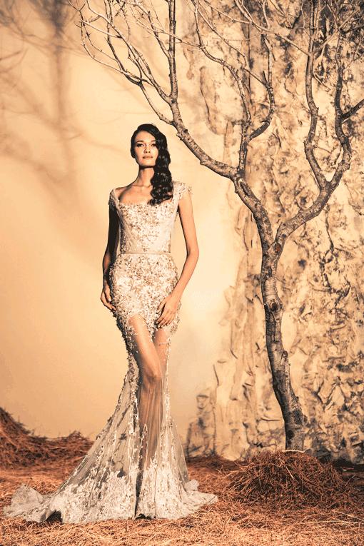 Espectaculares vestidos de moda | Colección Ziad Nakad