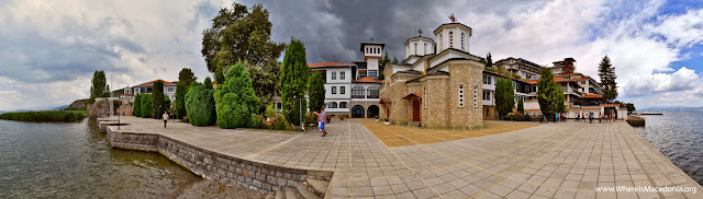 Kalishta Monastery near Struga, Macedonia