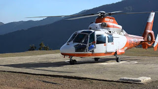 HELICOPTER SERVICE IN MIZORAM