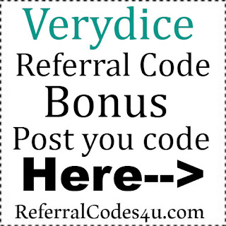 Verydice App Referral Code, Verydice App Invite Code & Verydice App Sign Up Bonus