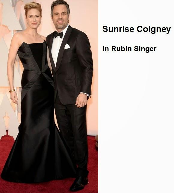 Sunrise%2BCoigney%2Bin%2BRubin%2BSinger - Look Óscares 2015